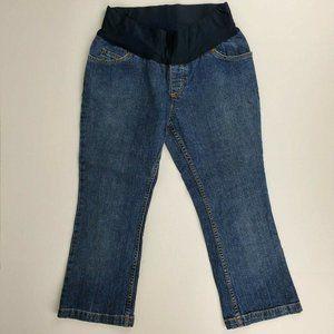 Liz Lange For Maternity Womens Capri Jeans Size 4